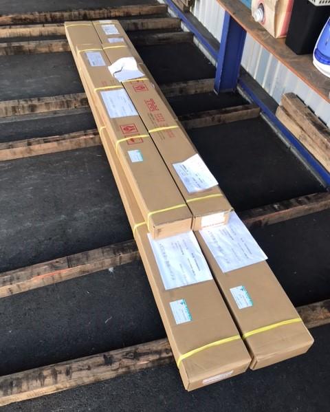 輸送品:機械部品(最長3500mm)