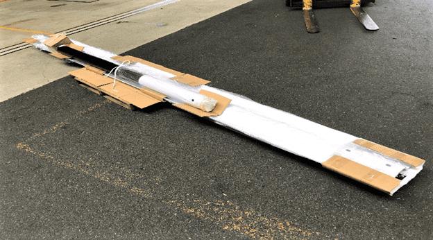 輸送品:ガードレール5000mm