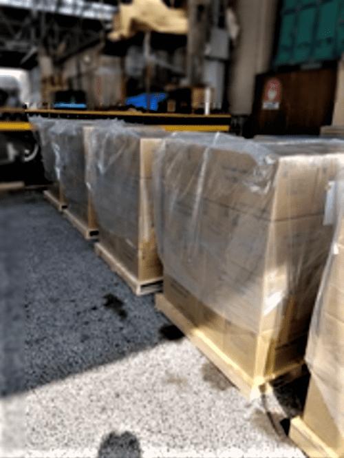 輸送品:輸入貨物 8P/L