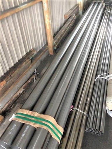 輸送品:鋼管パイプ 6000mm