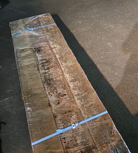 輸送品:枕木2.2m 3本 1束